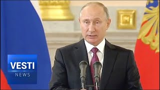 """""""Russia Will Stand Up For National Interests"""" - New Ambassadors Present Their Credentials to Putin"""