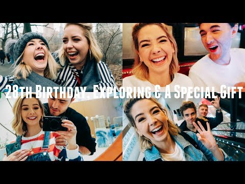 28TH BIRTHDAY, EXPLORING & SPECIAL GIFT | NYC VLOGS