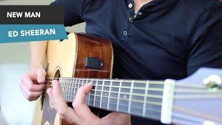 Video Ed Sheeran - NEW MAN Guitar lesson tutorial - EASY Fingerstyle - chords ÷ download MP3, 3GP, MP4, WEBM, AVI, FLV Juli 2018