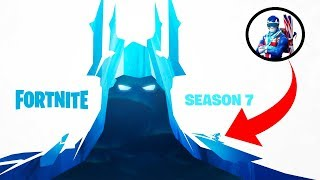 SEASON 7 TEASER in FORTNITE - Ice King & Ski Fast Travel