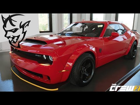 The Crew 2 - Dodge Demon - Customization, Top Speed, Review