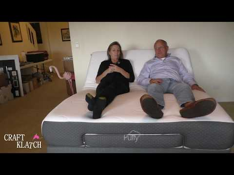 Puffy Mattress Adjustable Base with Zero Gravity Review by Craft Klatch | Sponsored