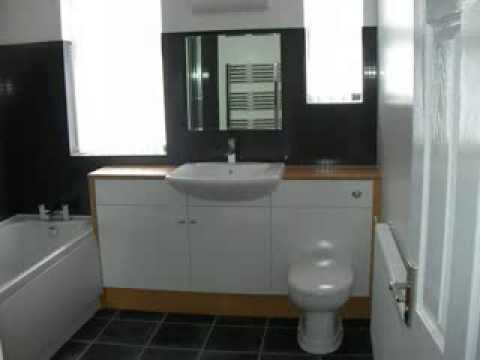 Separate Toilet And Bathroom Knocked Into One Large Family Bathroom
