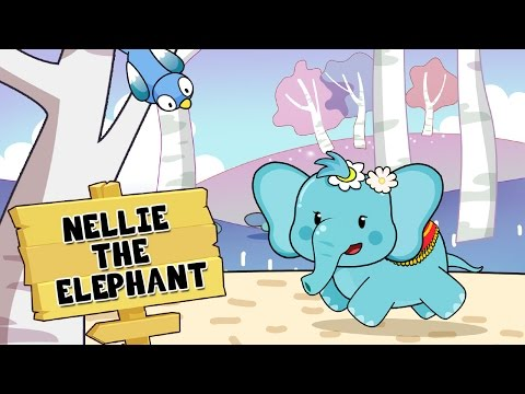 Nellie the Elephant Toy dolls Song With Lyrics | Nursery Rhymes TV