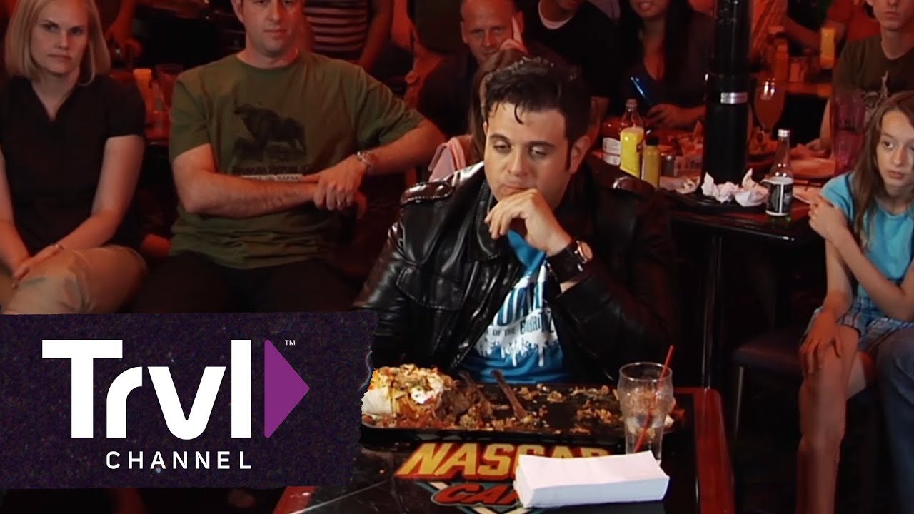 Man V Food Badass Burrito Challenge Youtube