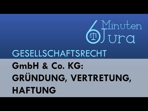 GmbH & Co. KG: Gründung, Vertretung, Haftung - Gesellschaftsrecht