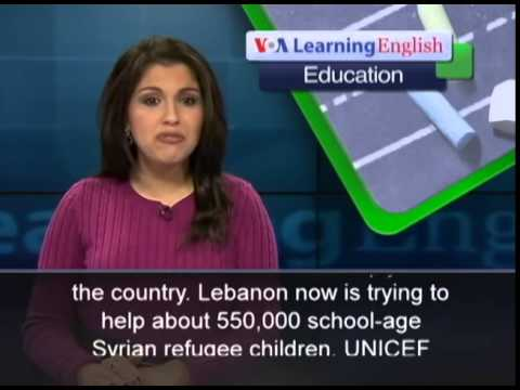 UNICEF Appeals for Help for Syrian Schoolchildren