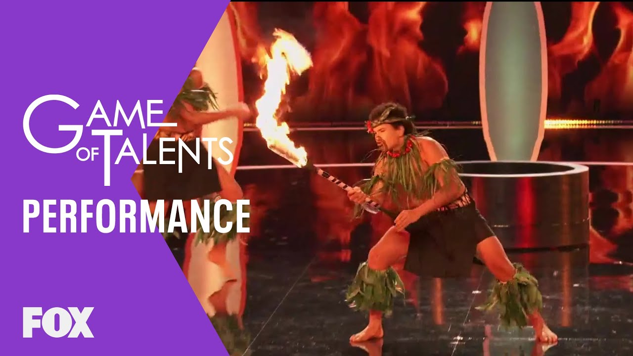Performance: The Fire Dancers | Season 1 Ep. 7 | GAME OF TALENTS