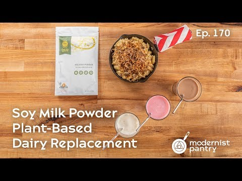 Soy Milk Powder? Plant-Based Dairy Replacement. WTF Ep. 170