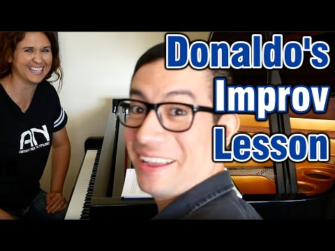 Donaldo's Improv Lesson