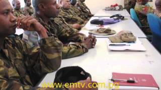 PNGDF and US Army Experts End Training