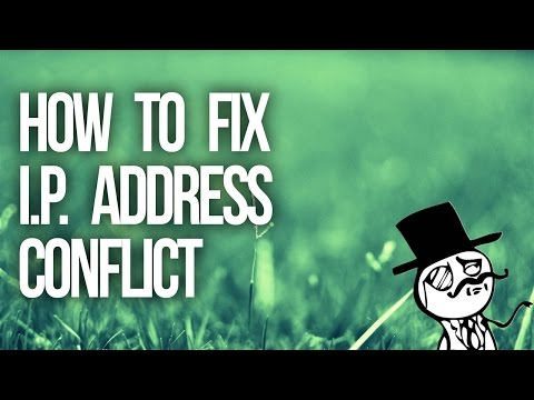 How To Fix Ip Address Conflicts Any Version Of Windows