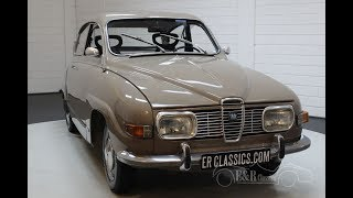 Saab 96 V4 1973 -VIDEO- www.ERclassics.com