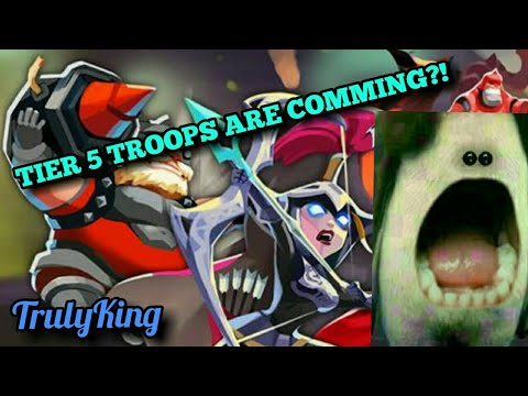 Lords-Mobile | TIER 5 TROOPS ARE COMMING??!!