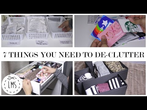 7 Things You Need To De-Clutter! New Year...