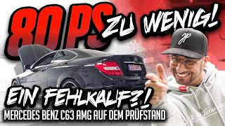 JP Performance - 80 PS zu wenig! | Mercedes C63 AMG Prüfstand
