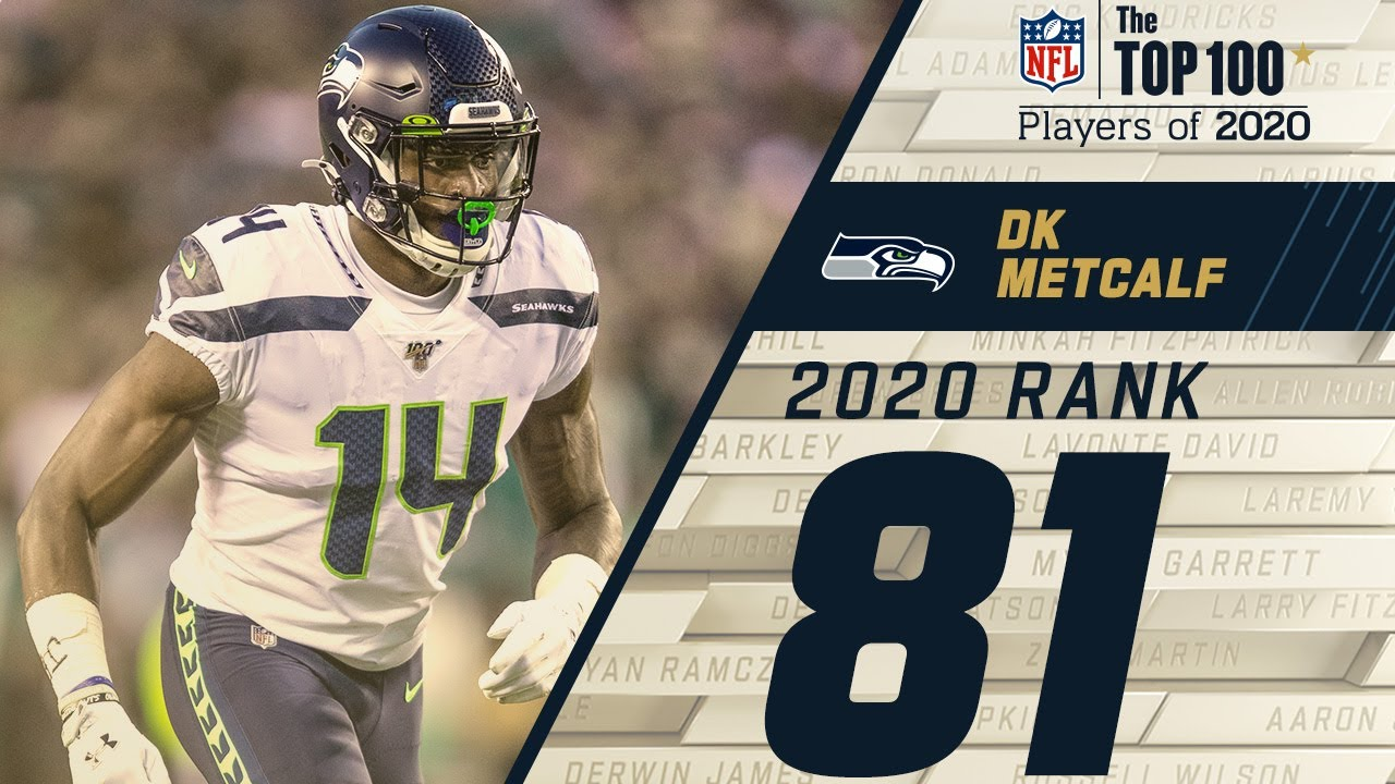 81 Dk Metcalf Wr Seahawks Top 100 Nfl Players Of 2020 Youtube