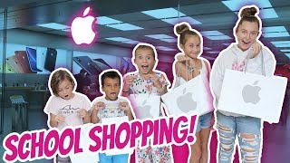 Apple Store BACK TO SCHOOL SHOPPING! Its R Life