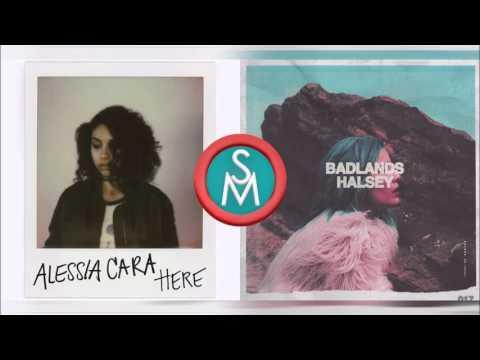 Alessia Cara vs Halsey - I Walk Here (Mashup)
