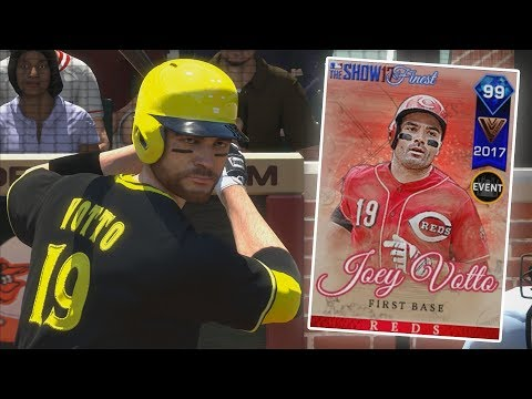 99 JOEY VOTTO DEBUT - MLB 17 The Show Diamond Dynasty
