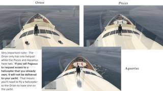 GTA V Online Yacht Comparisons