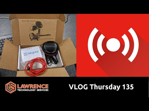 VLOG Thursday 135: Playing With VLANS Chargers and Other Tech Talk