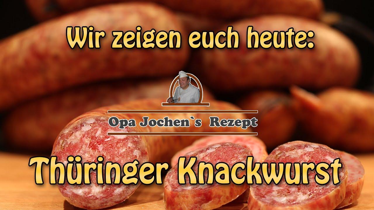 Thüringer knackwurst selber machen
