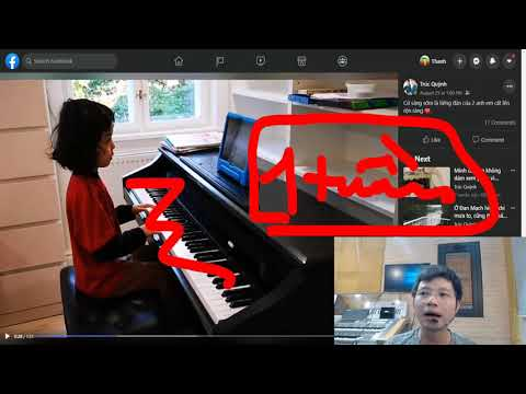 🎹 Đại Thành Piano rất vui mừng khi học viên nhí học ONLINE đạt kết quả bất ngờ