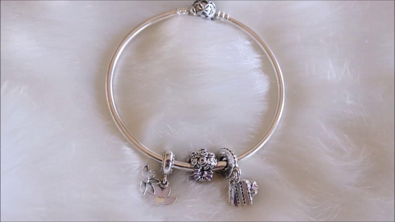 a2bedd665 Pandora Mother's Day free bangle promotion 2018/ What charms I got ...