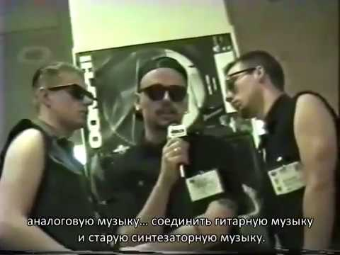 (EN/Ru Subs) 1993 New York, New Rok TV with Oomph!