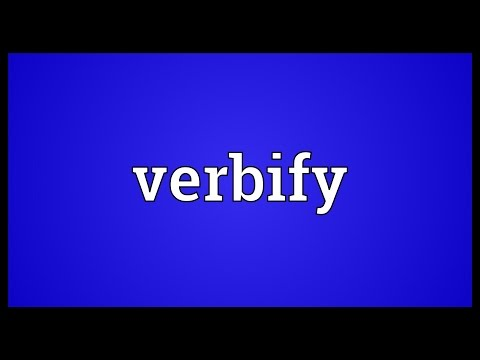 Header of verbify