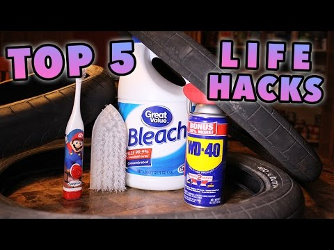 TOP 5 BMX TIRE LIFE HACKS!!!