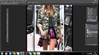 как сделать рамку к фотографии в Adobe Photoshop