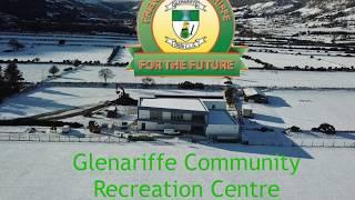 Glenariffe Community Centre in the Snow