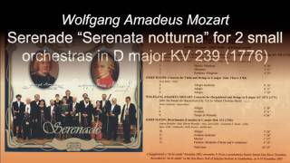 Capella Savaria - Mozart: Serenade Serenata notturna  in D major KV 239 (1776) 3 Rondeau.Allegretto