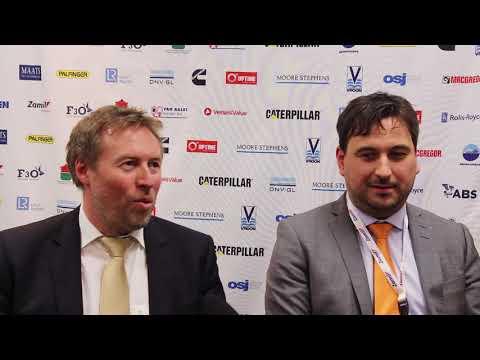 Vermund Hjelland Eidesvik  & Kristian Granberg Wartsila : OSJ Environmental Award winners 2018