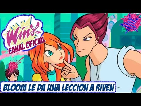 Winx Club 1x08 Clip Bloom le da una leccion a Riven Español Latino
