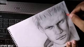 Drawing Nero DMC 5 [HD] | Graphite Pencil Sktch | Devil May Cry 5 (2018) | Pencil Glue