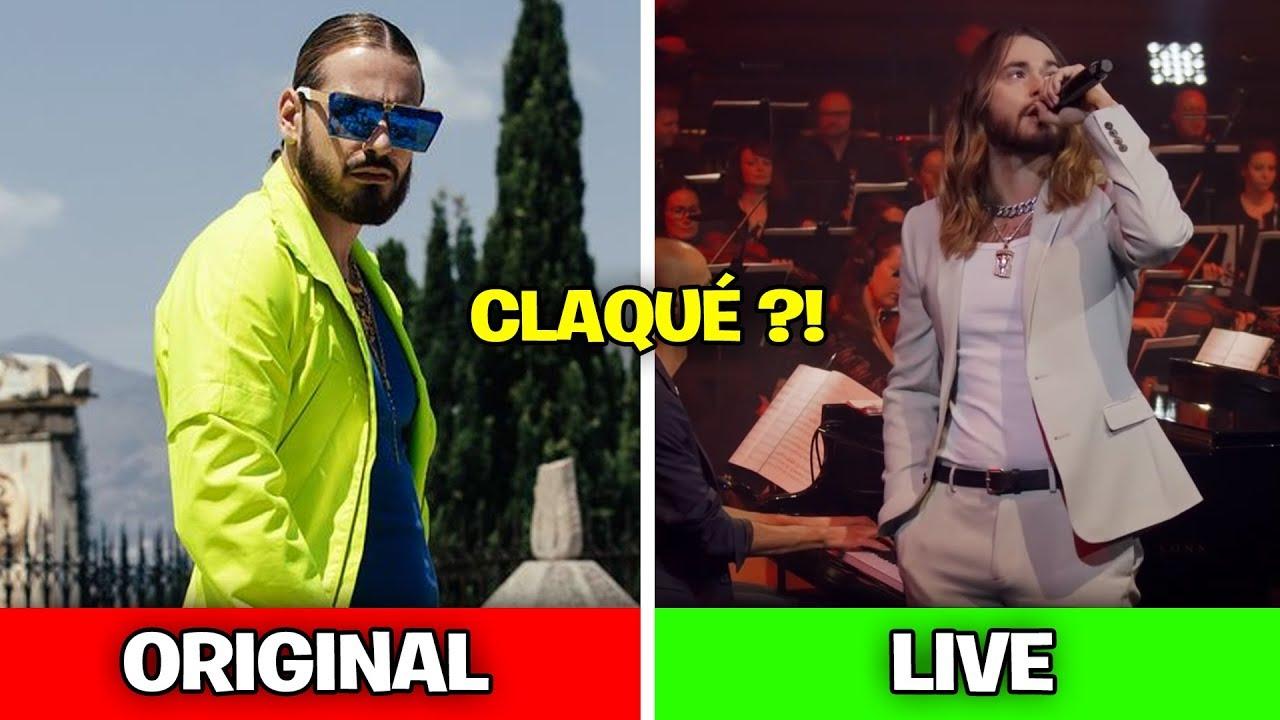 RAP DANS LES CLIPS vs RAP EN LIVE (Sch, Ninho, Fianso..)