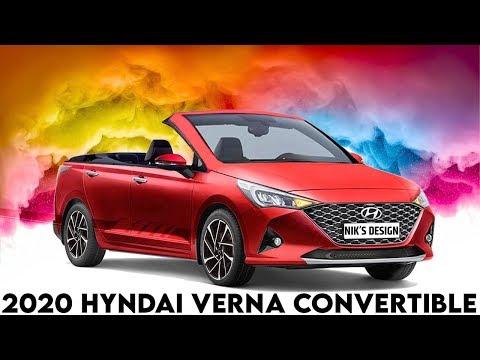 2020 Hyundai Verna Convertible (2020 Verna Cabriolet) - Rendering - Making Video - Launch India ?..