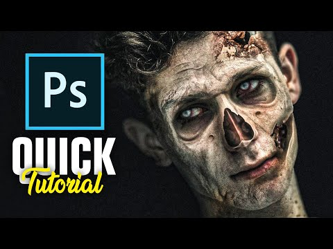 How To Turn Yourself Into A Zombie! (photoshop)