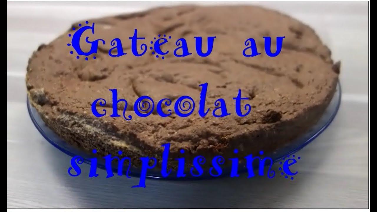 G teau au chocolat facile sans oeuf ni lait youtube - Gateau sans oeuf ni lait ...