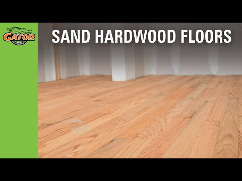 How To Sand Stain Hardwood Floors You