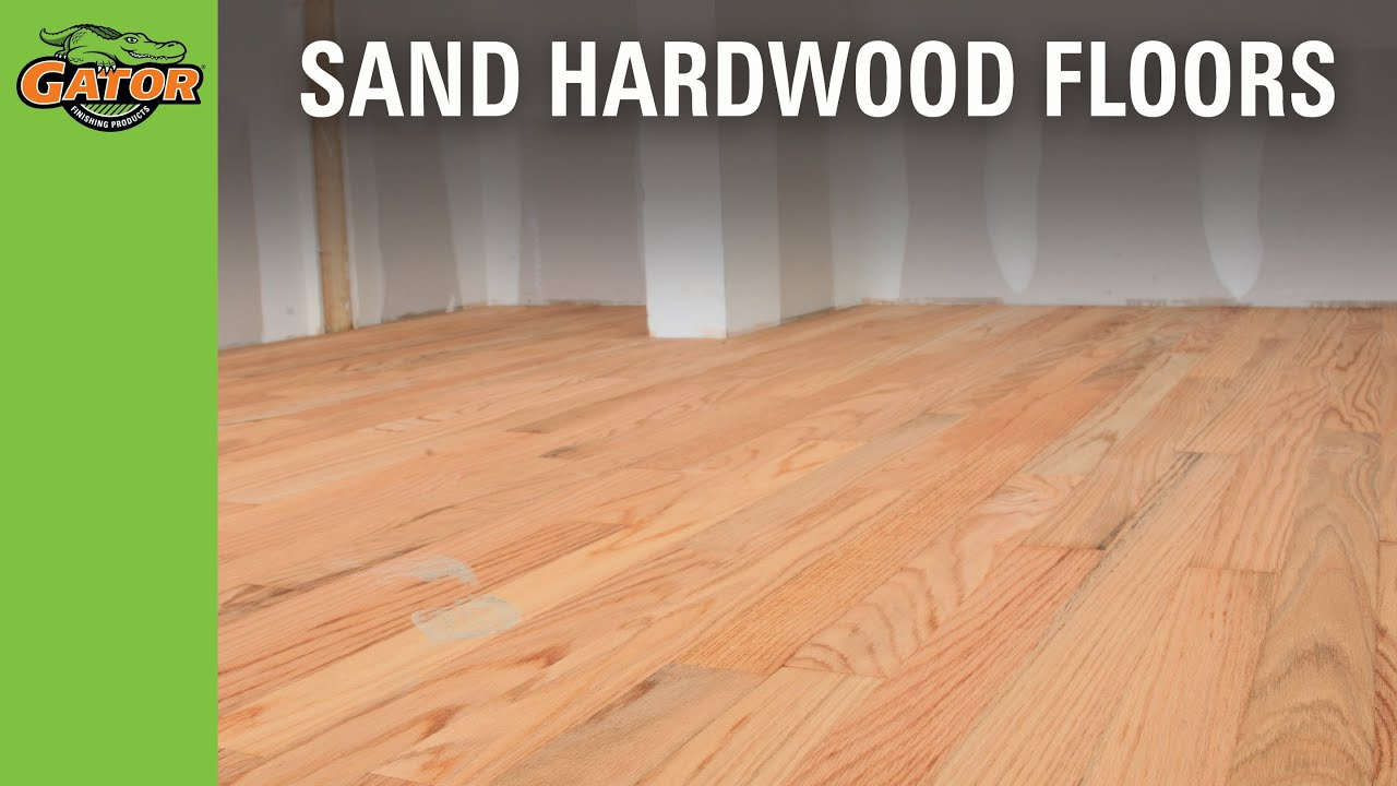 How To Sand Stain Hardwood Floors