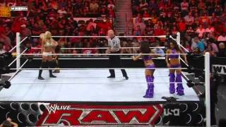 Tribute To The Troops 2011 Match 3-The Bella Twins,Beth Phoenix & Natalya vs Kelly Kelly,Alicia Fox