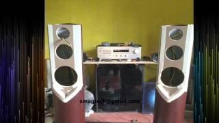 Horn loaded tower speaker.mp4