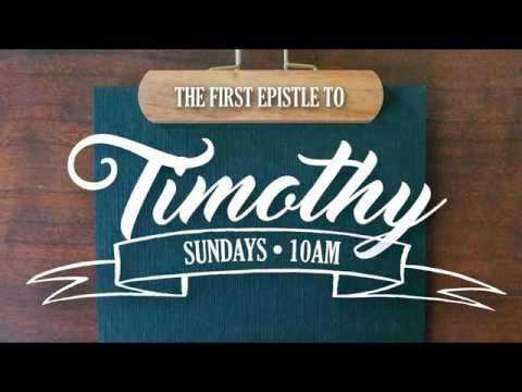 """1st Timothy 2:1-7, """"One for All"""", 10-9-2016"""