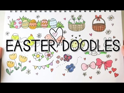 Easter Doodles Doodle With Me Youtube