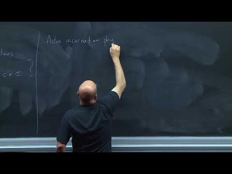 2018 - Olivier Schiffmann, L'algèbre de Lie de Heisenberg et l'espace de Fock (1/2)