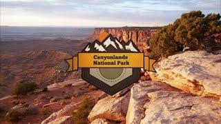 Canyonlands National Park Aerial Vacation
